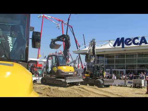 Intermat Paris 2015 Mecalac Show