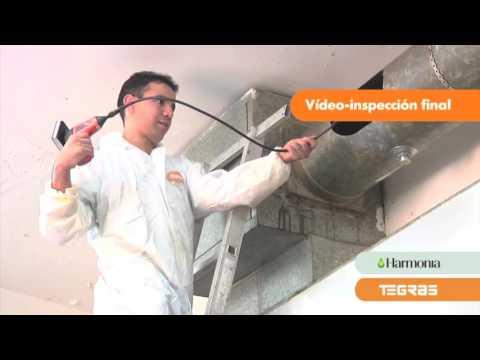 Limpieza de campanas y conductos de extracción