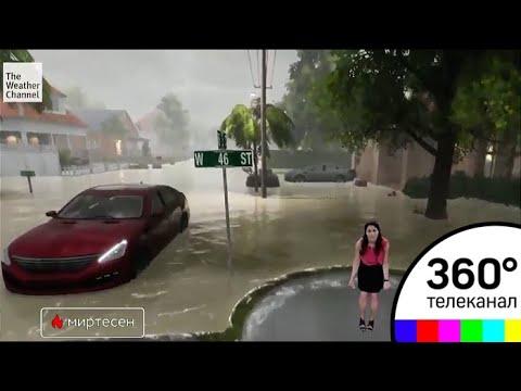 Захватывающий прогноз погоды придумали на телеканале Веазер Чаннел - МТ