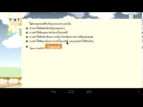 Video of เกมข้อสอบวิทย์ สสวท. ป.3