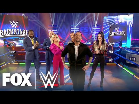 CM Punk makes his surprise debut on WWE Backstage WWE BACKSTAGE WWE ON FOX