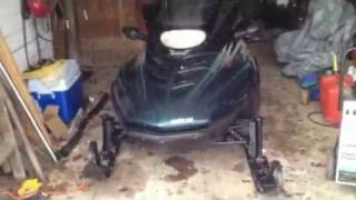 3. 1998 arctic cat pantera 800 triple start and run