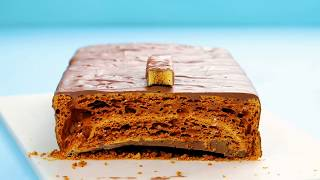 How to Make a Giant Crunchie Bar | Tastemade UK by Tastemade