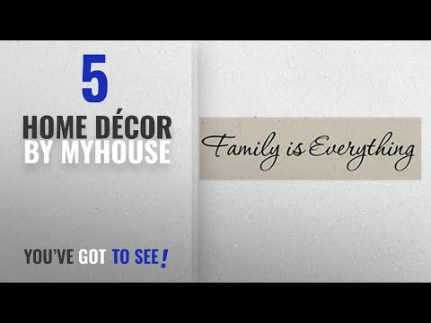 Family quotes - Top 10 Home Décor By Myhouse [ Winter 2018 ]: Myhouse 1pcs Family Is Everything Wall Sticker Decal