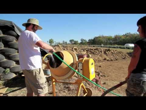 Building an Earthship