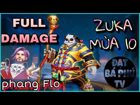 Liên quân Mobile | ZUKA mùa 10 | Full Damage gặp Florentino và cái Kết! - Thời lượng: 12 phút.