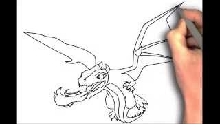 How to draw Clash of Clans Pekka, Golem, Giant, Dragon, Barbarian King, Archer Queen, Hog Rider