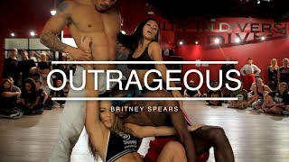 """Video Britney Spears -  """"Outrageous"""" 
