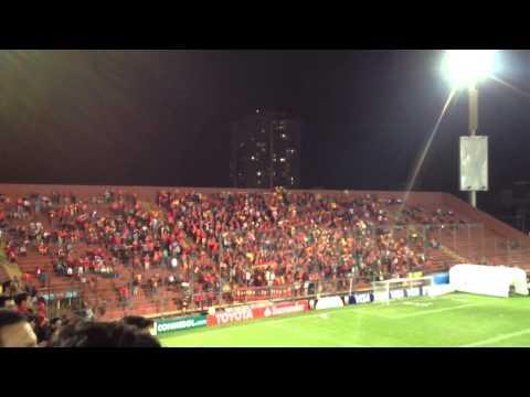 Salida union española vs san Lorenzo copa libertadores 2014 - Fúria Roja - Unión Española - Chile - América del Sur