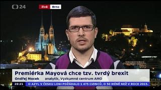 Premiérka Mayová chce tzv. tvrdý brexit
