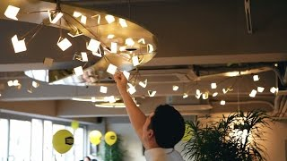 LG Chem OLED light for Marley Coffee Shop