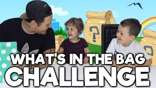 Whats In The Bag Challenge - Barnen Testar