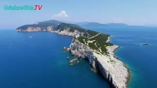 Luchtvideo Kaap lefkatas Lefkas - Griekse Gids.TV