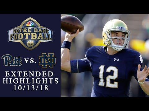 Video: Pittsburgh vs. Notre Dame I EXTENDED HIGHLIGHTS I 10/13/18 I NBC Sports