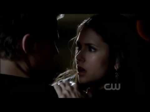 Stefan & Elena I knew you'd catch me scene The Vampire Diaries 3x06