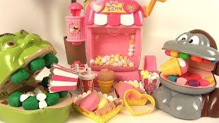 Video Shrek et le Singe mangent du Popcorn en Pâte à Modeler type Moon Dough MP3, 3GP, MP4, WEBM, AVI, FLV September 2017