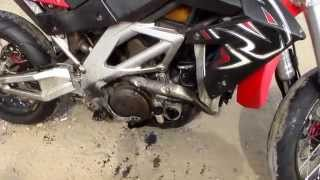 9. Aprilia RXV 4.5 oil filter failure .  .  .