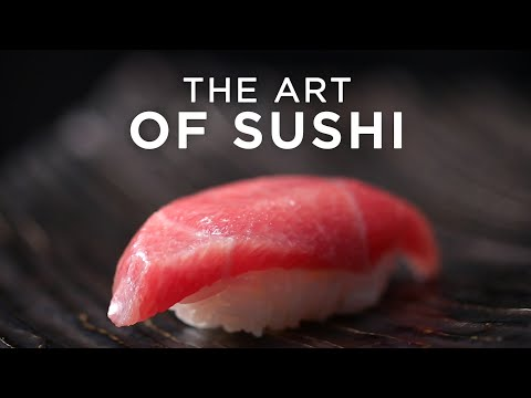 Sushi is More than Food, its Art