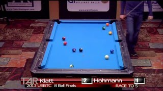 2013 US Bar Table Championships 8 BALL FINAL: Jason Klatt Vs Thorsten Hohmann