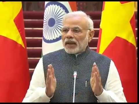 PM Modi at Joint Press Statement between India & Vietnam