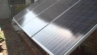 DIY Solar Panel System: I've Gone 100% Solar Power