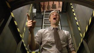 Le bunker sous-terrain de Colin Furze en vidéo