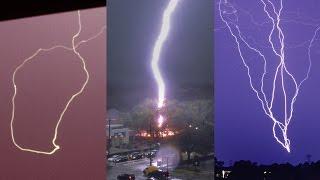 Video STRANGE LIGHTNING STRIKES - Caught on Camera and explained MP3, 3GP, MP4, WEBM, AVI, FLV November 2018