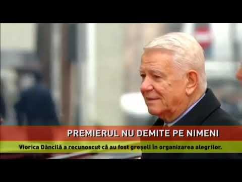 Viorica Dăncilă a recunoscut că au fost greșeli în organizarea alegerilor