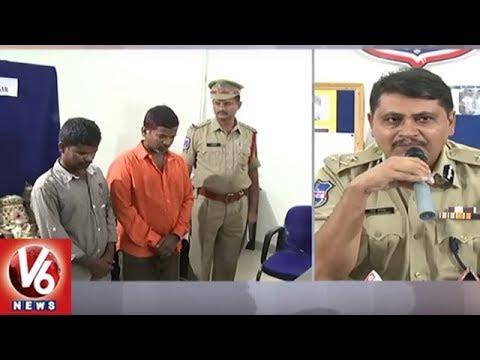 Chaddi Gang Members Arrested By Rachakonda Police   Hyderabad   V6 News