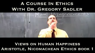 Views On Happiness (Aristotle, Nichomachean Ethics Bk.1)