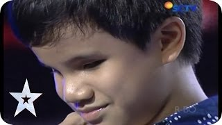 Remarkable Talented Kid By His Piano Skill - Michael Anthony - AUDITION 3 - Indonesia's Got Talent