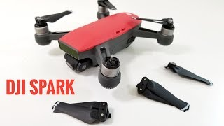 A quick guide on how to replace the propellers on the DJI Spark quadcopter. Find the DJI Spark & Propellers on Amazon: http://geni.us/XNCRZXW This is very simple to do and it only takes about 30 seconds. You can find step by step instructions on how to remove the propellers in the video.