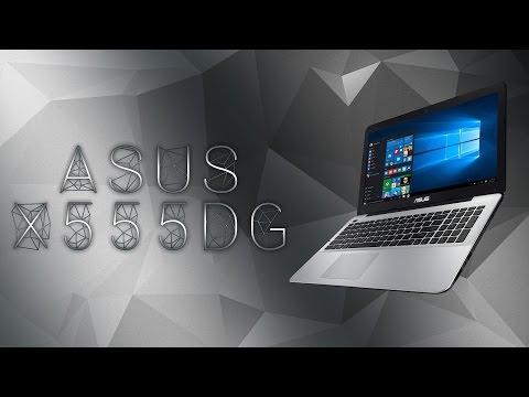 Asus X555DG unboxing / kicsomagolás
