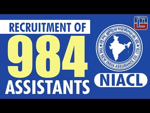 New India Assurance Co. Limited invites application from eligible Indian Citizens for recruitment of Assistants in Class III Cadre from the open market.