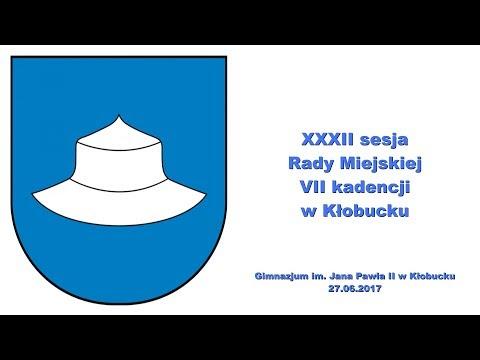 XXXII Sesja Rady Miejskiej w Kłobucku
