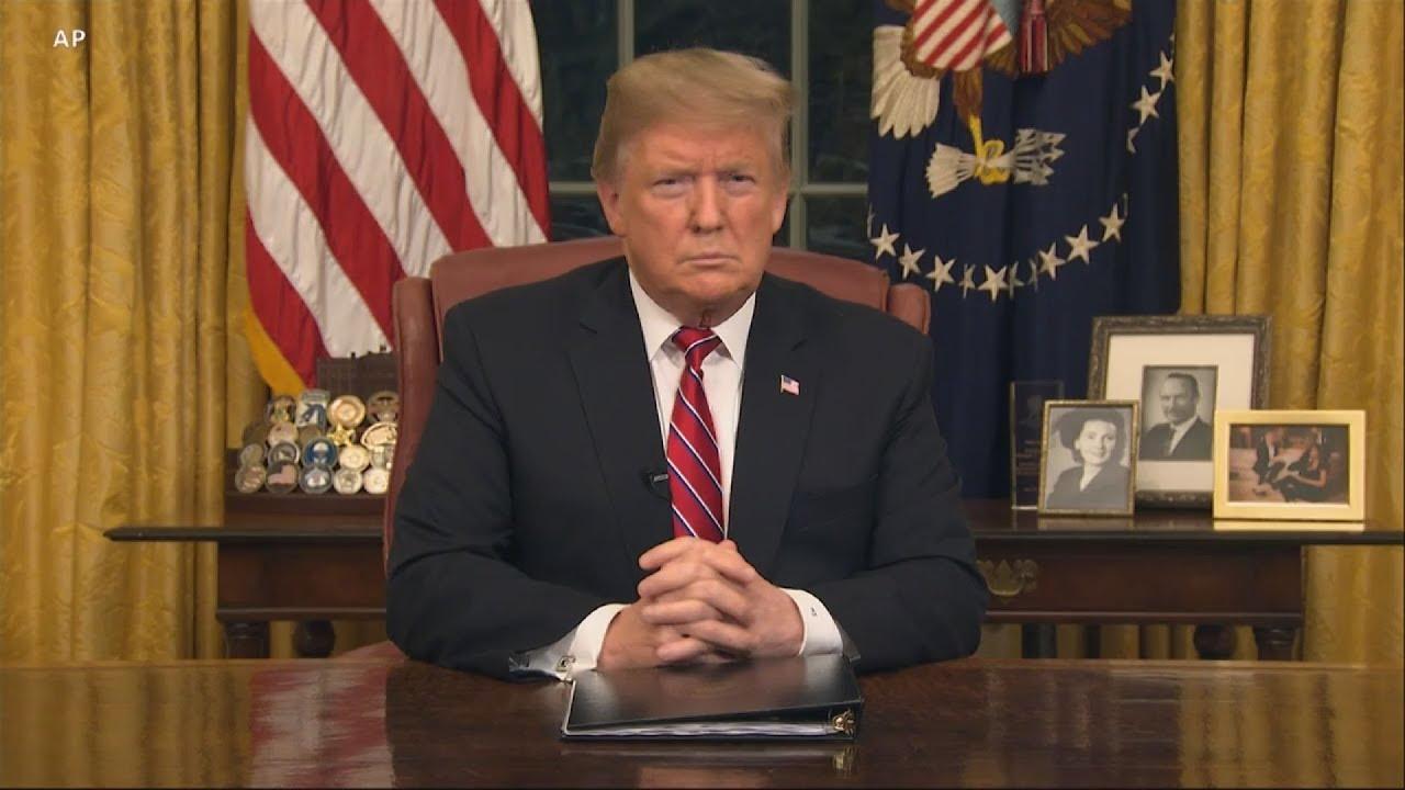 O Ντόναλντ Τραμπ απαίτησε για ακόμη μια φορά από το Κογκρέσο κονδύλια για το Τείχος