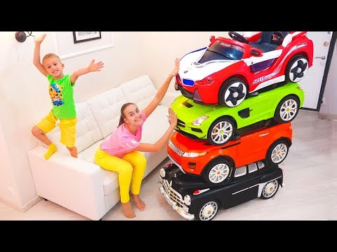 Magic Little Driver ride on Toy Cars and Transform car for kids
