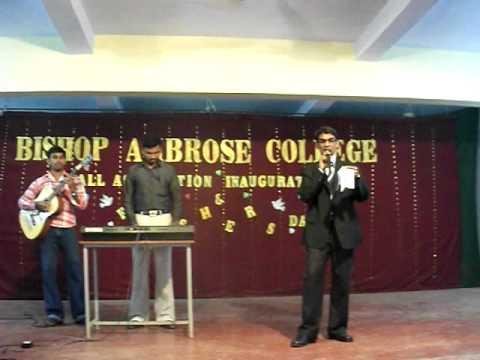 Bishop Ambrose College Fresher's College