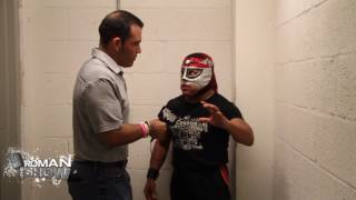 Octagoncito was part of the annual CCW Cinco de Mayo event in Miami, FL. He spoke to The Roman Show about lucha libre being the place to be for future wrestlers and why everyone comes to Mexico to train.