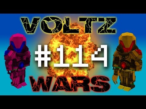Minecraft Voltz Wars - Attacking Edds Nether Fort! #114