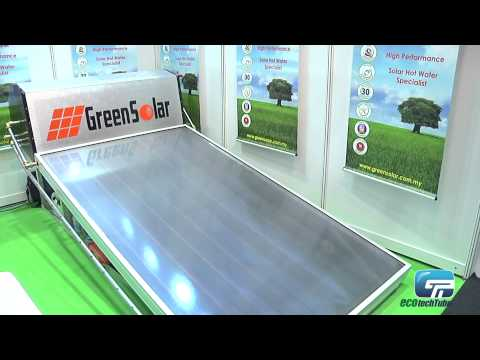 Green Solar Energy: Solar Hot Water Heater System