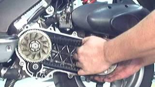 7. Kymco Super 9 LC adding a shim
