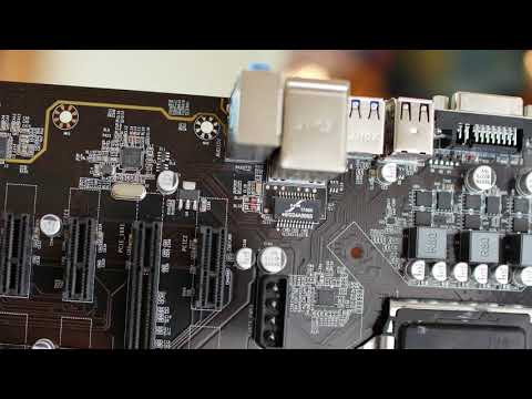 Quick Look:  Generic B250 Mining Motherboard with 12 x PCI e