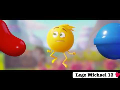 The emoji movie candy crush clip 😛🍭