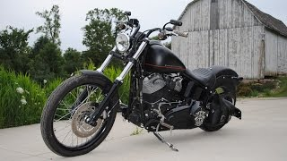 4. 2012 Harley Davidson FXS Softail Blackline FOR SALE