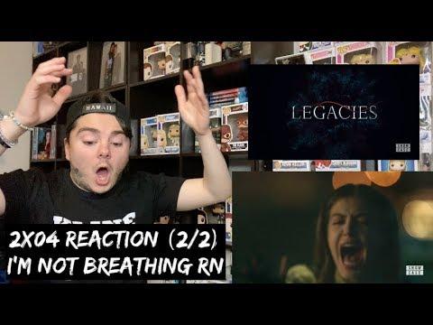 LEGACIES - 2x04 'SINCE WHEN DO YOU SPEAK JAPANESE?' REACTION (2/2)