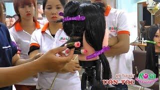 Uốn tóc: Hướng dẫn kỹ thuật uốn tóc