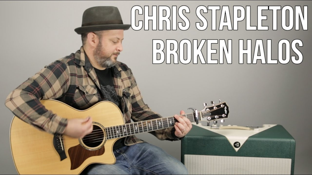 "Chris Stapleton ""Broken Halos"" Guitar Lesson – Super Easy Acoustic Songs"