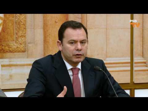 """CGD: """"A verdade não é um problema de bisbilhotice"""", Luís Montenegro em Conferência de Imprensa"""