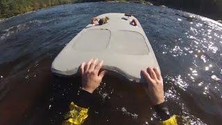 Как канадец спас из горной реки тонущую белку